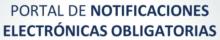 Texto como imagen portal de notificaciones electrónicas